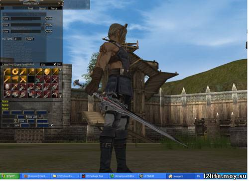 White weapons для сборок lineage 2 gracia final